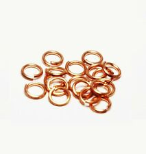 "Solid Copper Jump Ring (20 Ga.-.032"") 4 MM 1/2 Oz Pkg. Of 340 /Made in USA #CJR"