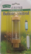 aquarium CO2 Bubble Counter &CHECK VALVE for Regulator Diffuser Atomizer Reactor