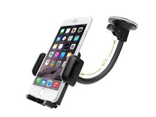 Universal Car Windshield Suction Mount Goose Neck Holder Cradle for iPhone 5S 6