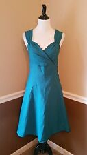Modcloth Dress Sweetheart S Rock Steady Teal & Black Pinup Rockabilly Retro $89