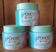 3 X POND'S COLD CREAM CLEANSING BALM