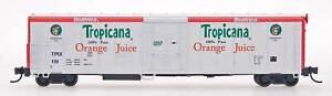 N RED CABOOSE RM-21005-1 Tropicana WHITE Red   R-70-15  Refrigerator Car #119