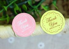 24 Thank you stickers Seal Wedding invitation Craft DIY Soap Candle making kit