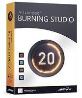 Ashampoo Burning Studio 20 - Save The Multimedia Movies, Photos, Music and Data