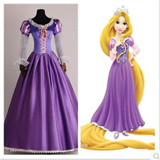 Kukucos Adult Tangled Rapunzel Princess Dress Cosplay Costume Size L