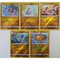 5er Set Revers Holo 147/236 bis 151/236 Dratini, Dragonair, Dragonite EN NM/Mint
