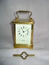 L'EPEE TIMEPIECE CARRIAGE CLOCK IN GOOD WORKING ORDER WITH KEY (6)