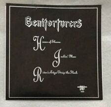 """Autographed Genitorturers """"House of Shame"""" 7-Inch Vinyl EP"""