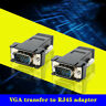 VGA Extender Male To Lan Cat5 Cat5e/6 RJ45 Ethernet Female Converter Adapter