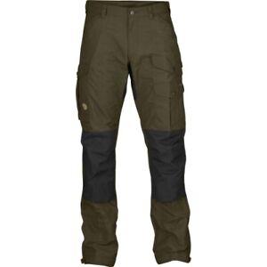 Fjällräven Vidda Pro Trousers M Regular, Dark Olive