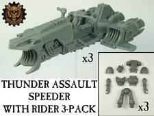 Thunder Assault Speeder with Rider 3-Pack