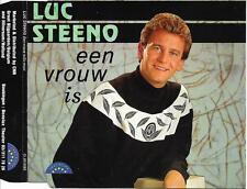 LUC STEENO - Een vrouw is CD SINGLE 2TR BELGIUM 1993