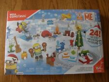 Mega Construx Despicable Me 3 Minions Christmas Advent Calendar Building Set-New