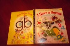 LITTLE GOLDEN BOOK I Have A Secret First Counting Book #269SYD Memling GIORDANO