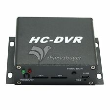 HC-DVR Mini DVR Audio H.264 HDMI USB CCTV Camera Video Recorder Dual Card 128GB