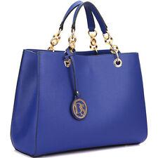 New Dasein Women Leather Satchel Handbag Totes Shopper Shoulder Bag Collections