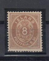E3068/ ICELAND – MI # 4A MINT MH – CV 330 $