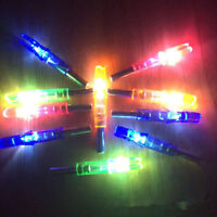 12pcs ID 6.2mm LED Lighted Arrow Nock Compound Recurve Bow Archery Hunting