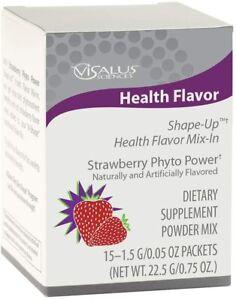 New Batch 15 ViSalus Body By Vi Strawberry Health Flavor Mix Ins exp 2023