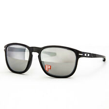 Oakley Ink Collection Enduro Sunglasses OO9223-14 Black Ink / Chrome Polarized