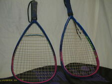 2 eforce aggro racquetball rackets 3 5/8 lot racquets with covers 190g carbon