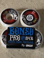 Bones 60mm Pro Spf 84B P5 Sidecut Tony Hawk Falcon Ii Skateboard Wheels 4 Pk. W