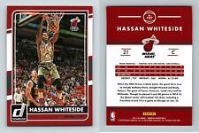 Hassan Whiteside #157 Donruss Basketball 2015-16 Panini Trading Card