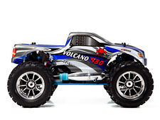 Redcat Racing Volcano S30 1/10 Scale Nitro Monster Truck 4WD 2.4GHz BLUE/SILVER