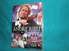 ANDRE RIEU - In Wonderland - PAL 0 REGION DVD + BOOKLET