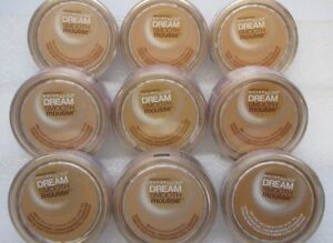 (lot of 2) Maybelline Dream Smooth Mousse Foundation