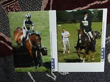COLLECTION OF 2 x EQUESTRIAN PRESS AGENCY PHOTOGRAPHS - ZARA PHILLIPS 2004