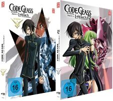 Code Geass - Lelouch of the Rebellion - Staffel 1-2 - DVD - NEU