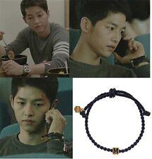 Korean Descendants of the sun Song Joong Ki Style Cuff Wristband Anchor Bracelet
