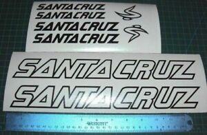 Santa Cruz Bike Decals Sticker Set MTB DH Nomad Heckler Outline