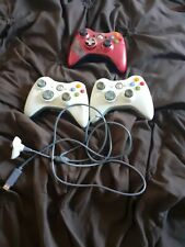 Used Xbox 360 Controllers x 3 - All working