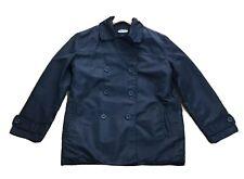 OLD NAVY Clothing Co Label Size S Black Mens Waterproof Windbreaker Coat Jacket