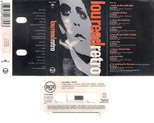 LOU REED  Retro  DIFICULT SPANISH   cassette        SPAIN