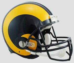 Stl. Louis Rams Throwback 81-99 1981-1999 Riddell Mini Helmet New in box