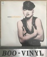"MADONNA JUSTIFY MY LOVE FRENCH IMPORT  7"" VINYL RECORD RARE SILVER LABEL SIRE Ex"