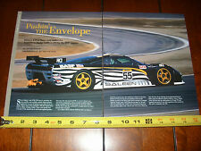 STEVE SALEEN S7R GTS RACE CAR - ORIGINAL 2001 ARTICLE