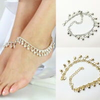 Fashion Indian Women Bell Charm Ankle Bracelet Anklet foot Chain Belly Dance New