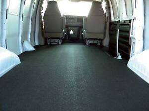 BedRug VanTred VTRF92X Rubber Extended Cargo Van Mat 92-14 Ford E-Series