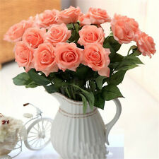 Wholesale 1Pc  Head Real Latex Rose Flowers For wedding Bouquet   SALE