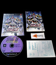 SUPER ROBOTS WARS SCRAMBLE COMMANDER Sony PS2 PLAYSTATION2 Play Station Japones
