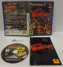 Console Game SONY Playstation 2 PSX2 PS2 PAL ITALIANO THE WARRIORS - I Guerrieri