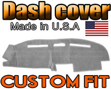 Fits  1987-1989  TOYOTA  4RUNNER  DASH COVER MAT DASHBOARD PAD /  LIGHT GREY