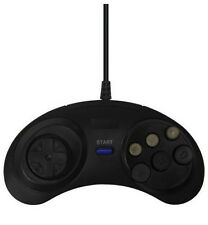 Sega Mega Drive Replacement 6 Button Controller Joypad UK Genesis Master System