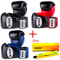 Windy Proline Muay Thai Boxing Gloves Sparring  Kick Boxing MMA Leather