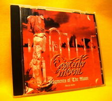 CD Concerto Moon Fragments Of The Moon 11 TR 2000 Speed Metal Prog Melodic Rock