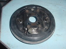 1986 86 HONDA 200SX 200 SX FOURTRAX FRONT LEFT BRAKE DRUM BACKING PLATE